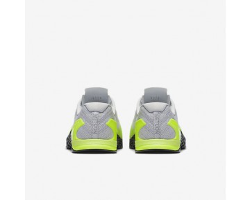 Nike Metcon 3 Mens Shoes Pure Platinum/Volt/Ghost Green/Black Style: 852928-006