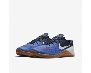 Nike Metcon 3 Mens Shoes Paramount Blue/Binary Blue/Gum Medium Brown/White Style: 852928-400