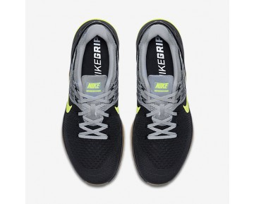 Nike Metcon DSX Flyknit Mens Shoes Wolf Grey/Wolf Grey/Black/Volt Style: 852930-003