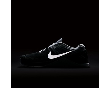 Nike Metcon DSX Flyknit Mens Shoes Black/Metallic Silver/White Style: 852930-005