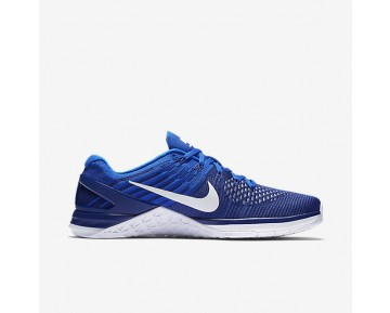 Nike Metcon DSX Flyknit Mens Shoes Deep Royal Blue/Racer Blue/White Style: 852930-402