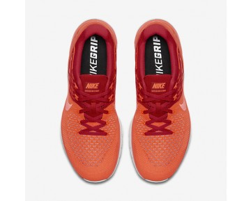 Nike Metcon DSX Flyknit Mens Shoes Total Crimson/University Red/Pure Platinum/Hyper Orange Style: 852930-800