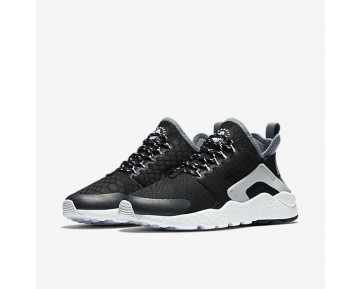 Nike Air Huarache Ultra SE Womens Shoes Black/Cool Grey/Pure Platinum/Black Style: 859516-002