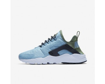 Nike Air Huarache Ultra SE Womens Shoes Mica Blue/Legion Green/Black/Mica Blue Style: 859516-401