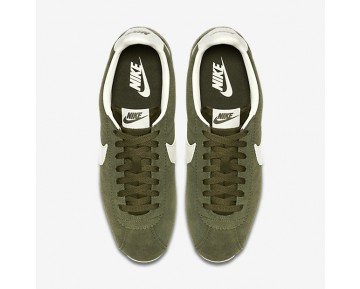 Nike Classic Cortez Leather SE Mens Shoes Legion Green/Sail Style: 861535-301