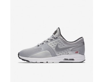 Nike Air Max Zero Womens Shoes Metallic Silver/University Red/Black/Metallic Silver Style: 863700-002