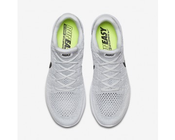 Nike LunarEpic Low Flyknit 2 Mens Shoes White/Pure Platinum/Wolf Grey/Black Style: 863779-100
