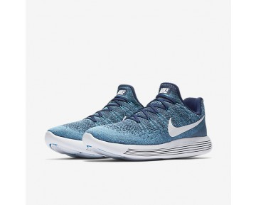 Nike LunarEpic Low Flyknit 2 Mens Shoes Binary Blue/Chlorine Blue/Ocean Fog/White Style: 863779-402