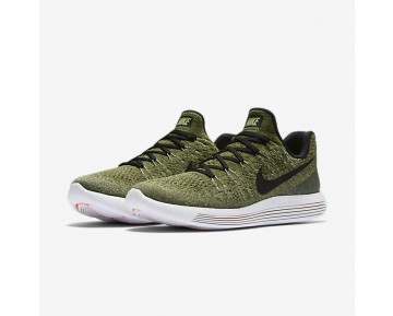 Nike LunarEpic Low Flyknit 2 Womens Shoes Palm Green/Vapour Green/Rough Green/Black Style: 863780-300