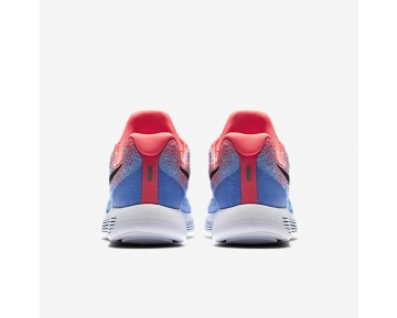 Nike LunarEpic Low Flyknit 2 Womens Shoes Hot Punch/Aluminium/University Blue/Black Style: 863780-600