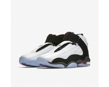 Nike Air Penny IV Mens Shoes White/True Red/Black Style: 864018-101