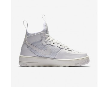Nike Air Force 1 UltraForce Mid Womens Shoes Summit White/Pure Platinum/Summit White Style: 864025-100