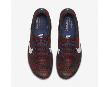 NikeLab Gyakusou Zoom Streak 6 Womens Shoes Team Red/Brave Blue/Black/Light Bone Style: 875850-600