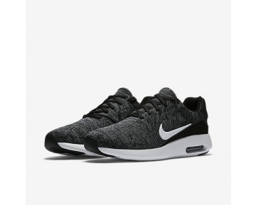 Nike Air Max Modern Flyknit Mens Shoes Black/Cool Grey/University Red/White Style: 876066-002