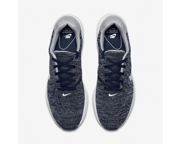 Nike Air Max Modern Flyknit Mens Shoes College Navy/Wolf Grey/White Style: 876066-400