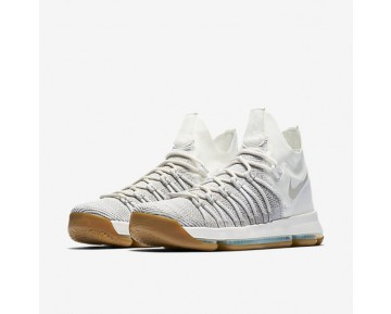 Nike Zoom KD 9 Elite Mens Shoes Pale Grey/Ivory/Pale Grey Style: 878637-001
