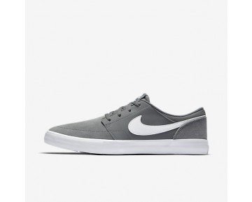 Nike SB Solarsoft Portmore II Mens Shoes Cool Grey/Black/White Style: 880266-010