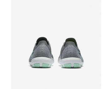 Nike Free Focus Flyknit 2 Womens Shoes Cool Grey/White/Arctic Green Style: 880630-003
