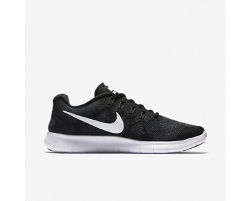 Nike Free RN 2017 Womens Shoes Black/Dark Grey/Anthracite/White Style: 880840-001