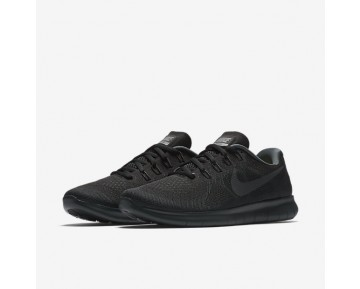 Nike Free RN 2017 Womens Shoes Black/Dark Grey/Cool Grey/Anthracite Style: 880840-003