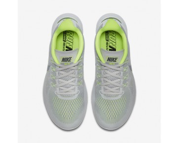 Nike Free RN 2017 Womens Shoes Wolf Grey/Pure Platinum/Volt/Cool Grey Style: 880840-004