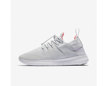 Nike Free RN Commuter 2017 Womens Shoes Pure Platinum/Hot Punch/White/Light Aqua Style: 880842-004