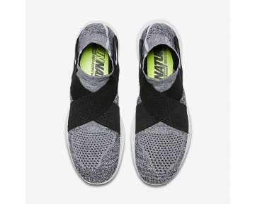 Nike Free RN Motion Flyknit 2017 Mens Shoes Pure Platinum/Black/Wolf Grey/White Style: 880845-001