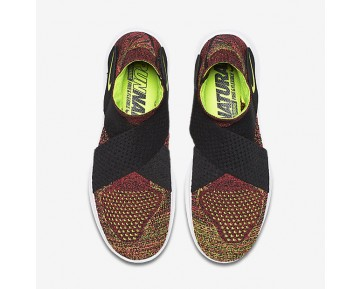Nike Free RN Motion Flyknit 2017 Womens Shoes Black/Racer Pink/White/Volt Style: 880846-004