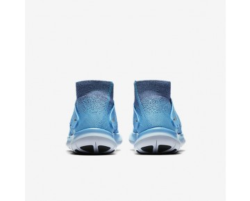 Nike Free RN Motion Flyknit 2017 Womens Shoes Chlorine Blue/Dark Purple Dust/Racer Pink/Black Style: 880846-400
