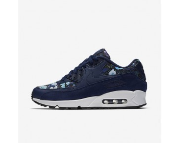 Nike Air Max 90 SE Womens Shoes Binary Blue/Blue Moon/Summit White/Binary Blue Style: 881105-400