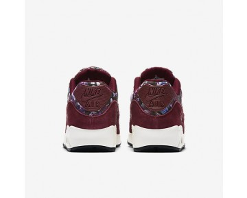 Nike Air Max 90 SE Womens Shoes Team Red/Night Maroon/Sail/Team Red Style: 881105-600