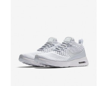 Nike Air Max Thea Flyknit Womens Shoes Pure Platinum/White/Wolf Grey/Pure Platinum Style: 881175-002