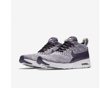 Nike Air Max Thea Flyknit Womens Shoes Dark Raisin/White/Pale Grey/Dark Raisin Style: 881175-500