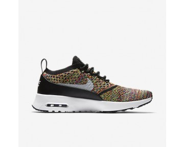 Nike Air Max Thea Flyknit Womens Shoes Bright Crimson/Black/White/Wolf Grey Style: 881175-600