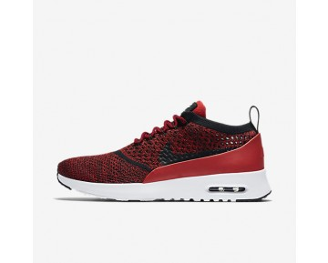 Nike Air Max Thea Flyknit Womens Shoes University Red/White/Black/Black Style: 881175-601