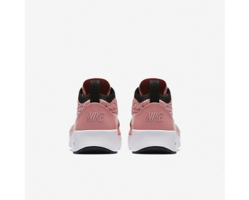 Nike Air Max Thea Flyknit Womens Shoes Bright Melon/Black/White Style: 881175-800