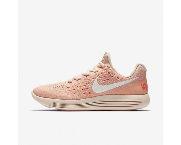 Nike LunarEpic Low Flyknit 2 IWD Womens Shoes Barely Orange/Hyper Orange/Sunset Glow/White Style: 881674-801
