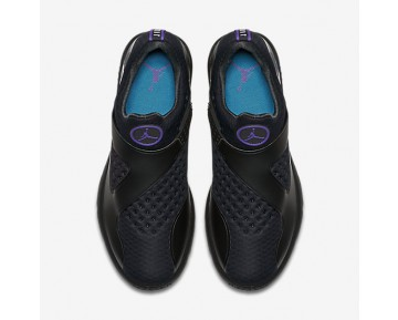 Jordan Trainer Essential Mens Shoes Black/Varsity Purple/Aquatone/White Style: 888122-018