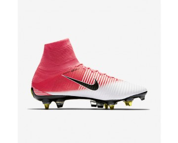 Nike Mercurial Superfly V Dynamic Fit SG-PRO Anti-Clog Mens Shoes Racer Pink/White/Black Style: 889286-601