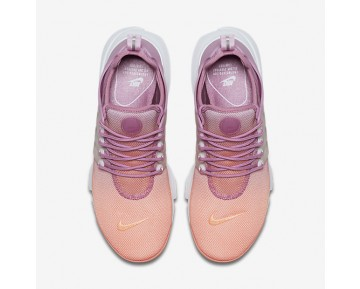 Nike Air Presto Ultra Breathe Womens Shoes Sunset Glow/Orchid/Glacier Blue/White Style: 896277-800