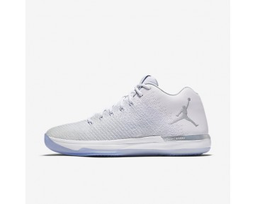 Air Jordan XXXI Low Mens Shoes White/Metallic Silver/Pure Platinum Style: 897564-100