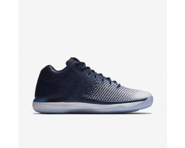 Air Jordan XXXI Low Mens Shoes Midnight Navy/White/Ice Blue/University Blue Style: 897564-400