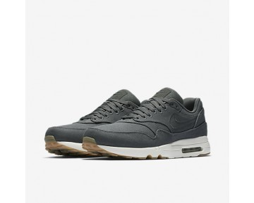 Nike Air Max 1 Ultra 2.0 Textile Mens Shoes Dark Grey/Anthracite/Sail/Dark Grey Style: 898009-002