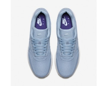 Nike Air Max 1 Ultra 2.0 Textile Mens Shoes Blue Grey/Light Armoury Blue/Court Purple/Blue Grey Style: 898009-401