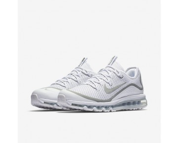 Nike Air Max More Mens Shoes White/Black/Metallic Silver Style: 898013-100