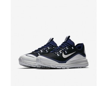 Nike Air Max More Mens Shoes Binary Blue/Comet Blue/Black/Pure Platinum Style: 898013-400