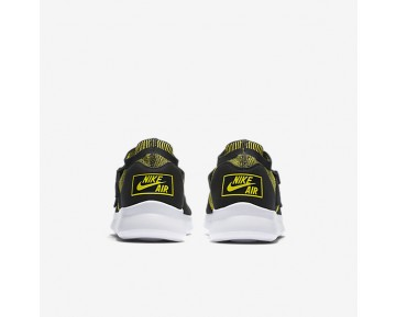 Nike Air Sock Racer Ultra Flyknit Mens Shoes Yellow Strike/Black/Yellow Strike Style: 898022-700