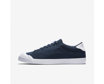 Nike All Court 2 Low Canvas Mens Shoes Armoury Navy/White/Armoury Navy Style: 898040-400