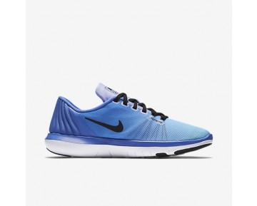 Nike Flex Supreme TR 5 Womens Shoes Medium Blue/Still Blue/Light Thistle/Black Style: 898472-400