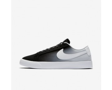 Nike SB Blazer Vapor Textile Mens Shoes Black/Pure Platinum/White Style: 902663-014